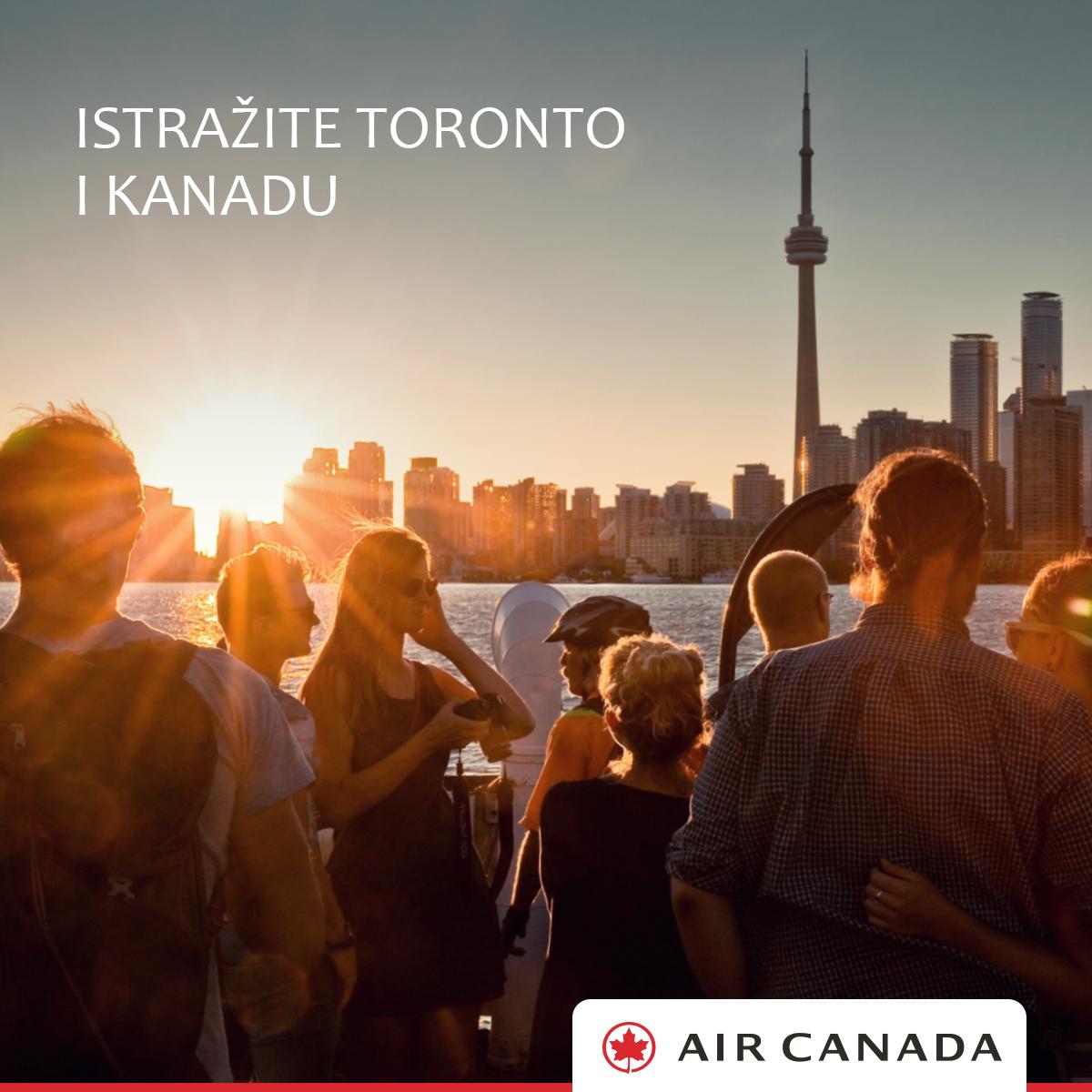 Akcije za letove Zagreb Toronto