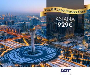 premium economy Astana