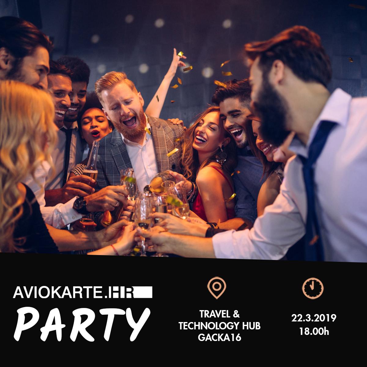 Aviokarte.hr brand party akcije