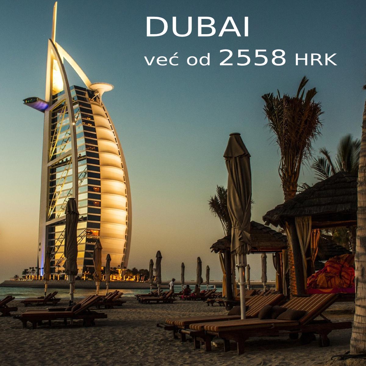 Dubai luksuzni hotel uz plazu