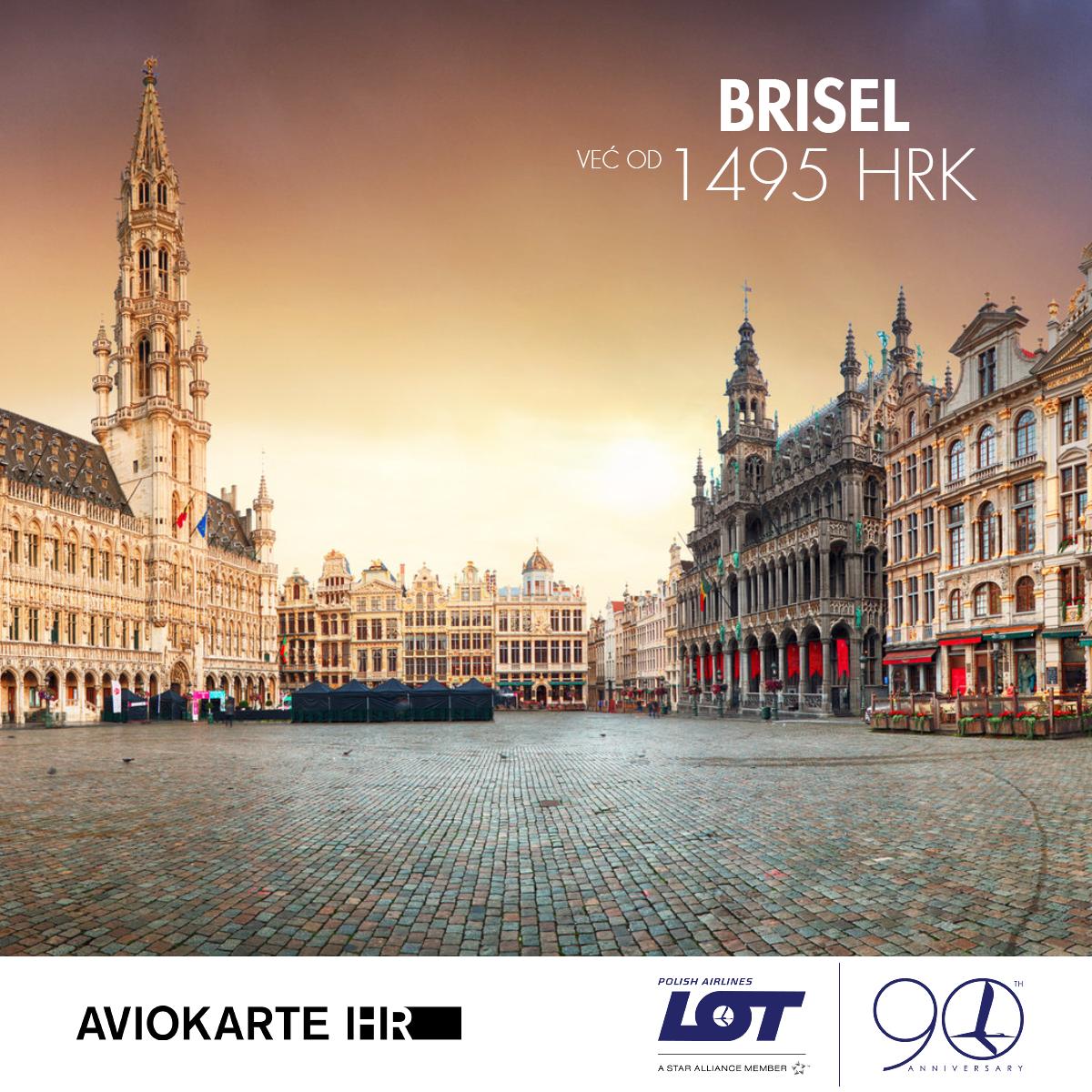 Brisel vizual, Brisel već od 1400 kuna, Brisel jeftine avio karte, putovanje za Brisel