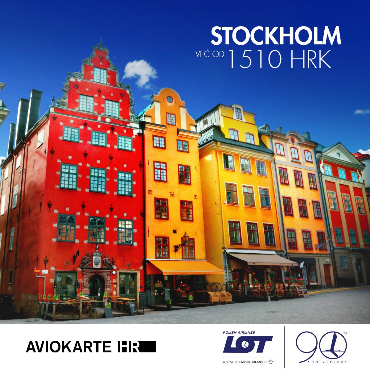 Stockholm vizual, Stockholm već od 1500 kuna, Stockholm jeftine avio karte, putovanje za Stockholm