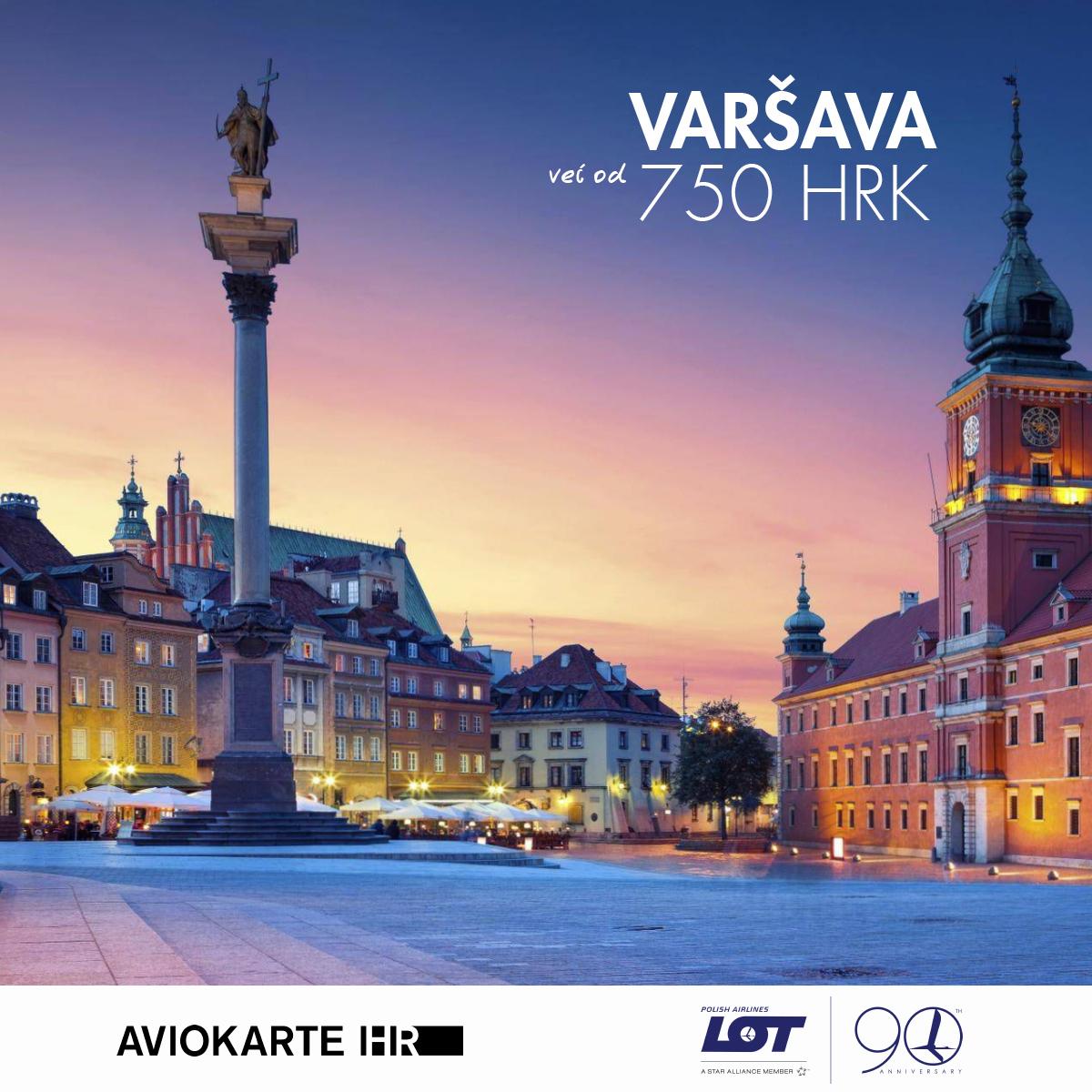 Varšava vizual, Varšava već od 750 kuna, Warsaw jeftine avio karte, putovanje za Varšavu