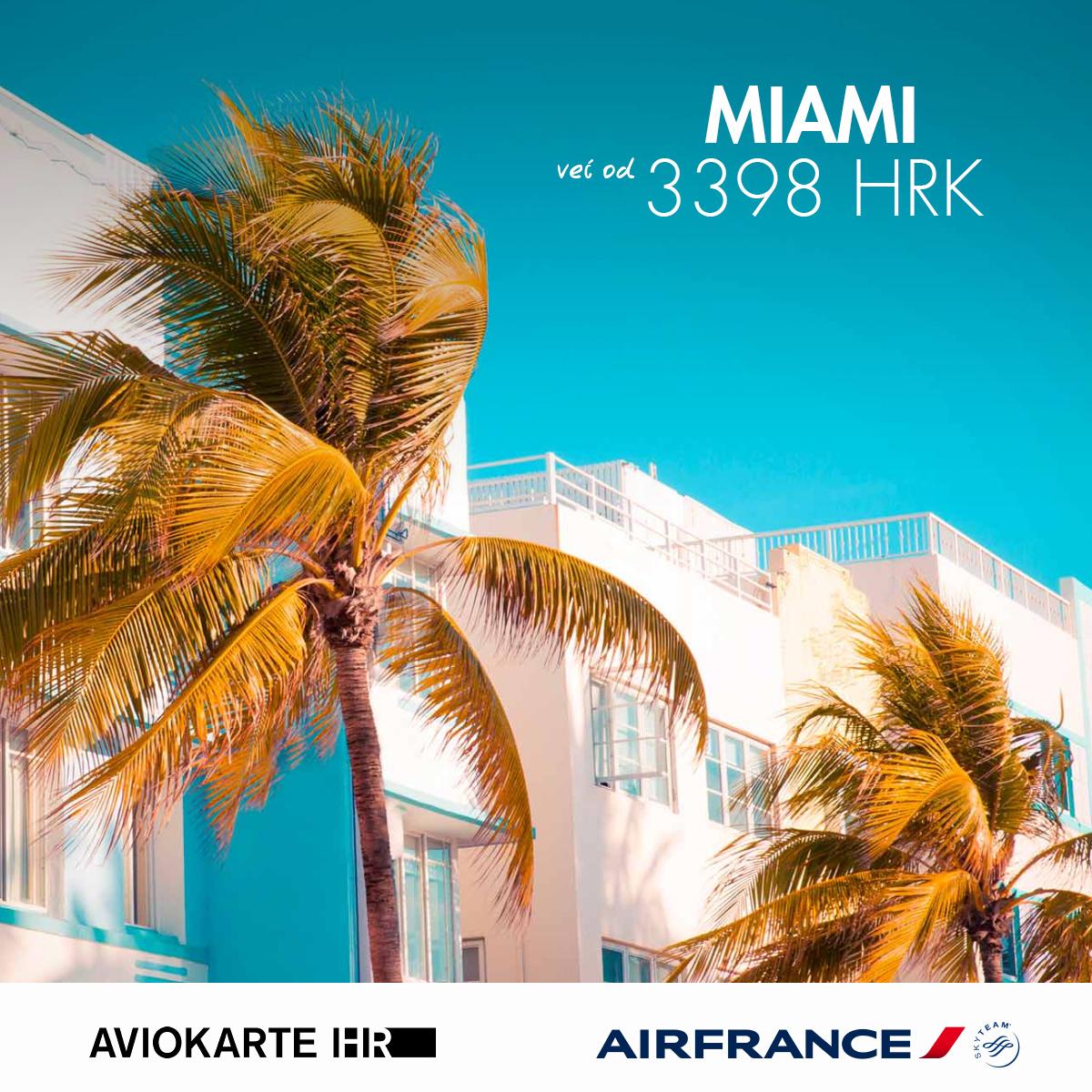 Miami vizual, Miami već od 1400 kuna, Miami jeftine avio karte, putovanje za Miami