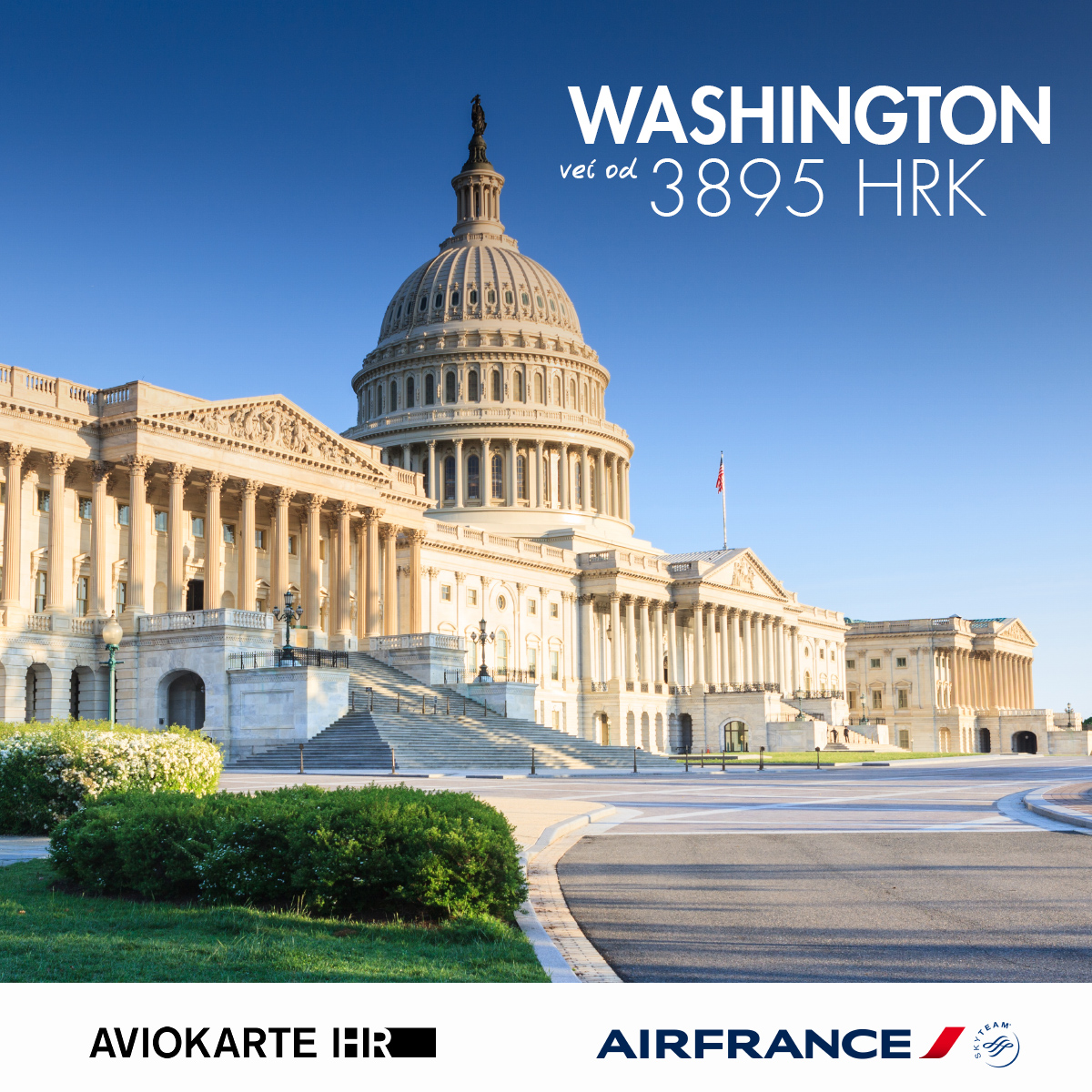 Washington vizual, Washington već od 1400 kuna, Washington jeftine avio karte, putovanje za Washington