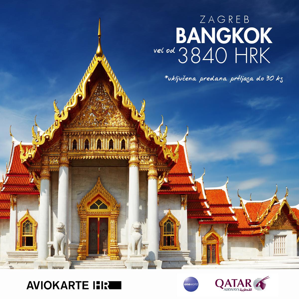 New York vizual, Bangkok već od 1400 kuna, Bangkok jeftine avio karte, putovanje za Bangkok