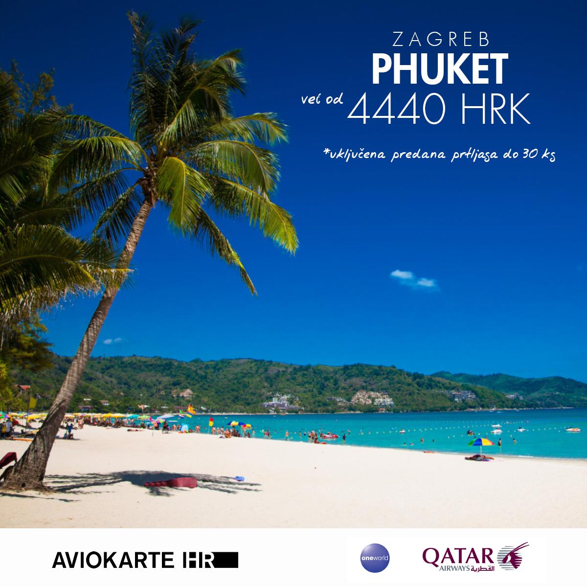 Phuket vizual, Phuketveć od 1400 kuna, Phuket jeftine avio karte, putovanje za Phuket