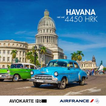 Havana vizual, Havana već od kuna, Havana jeftine avio karte, putovanje za Havana