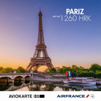 Pariz vizual, Pariz već od  kuna, Pariz jeftine avio karte, putovanje za Pariz