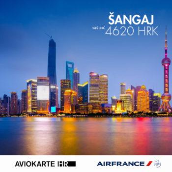 Šangaj vizual, Šangaj već od  kuna, Šangaj jeftine avio karte, putovanje za Šangaj